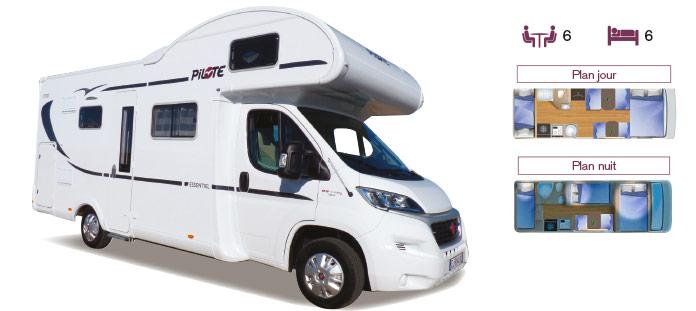 MotorHome Rent Camping-car Capucine Premium 2018 CN