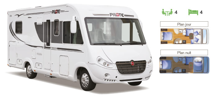 MotorHome Rent Camping-car Intégral Premium 2018 IN