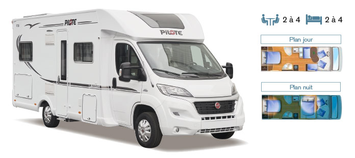MotorHome Rent Camping-car Profile Premium 2018 PPN