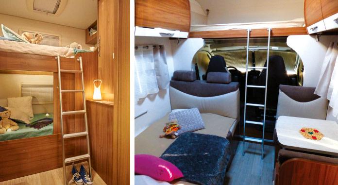 MotorHome Rent Chambre Camping-car Capucine Premium 2018 CN