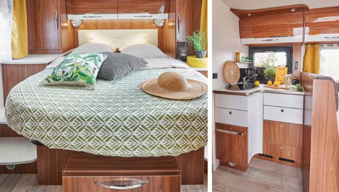 MotorHome Rent Chambre Camping-car Intégral Premium 2018 IN