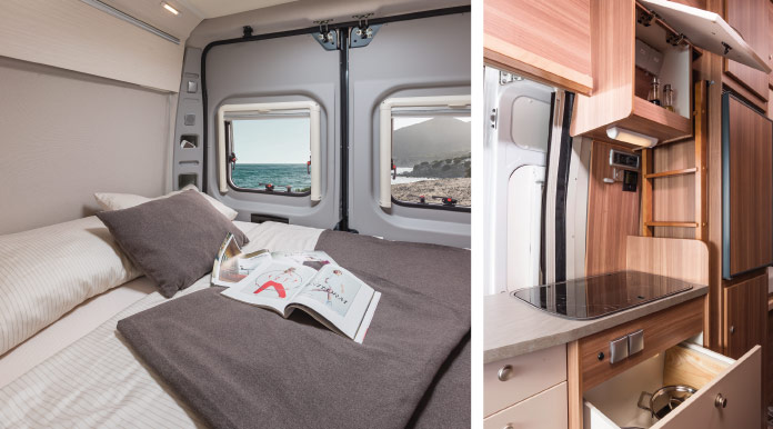 MotorHome Rent Chambre Fourgon Premium 2018 FG