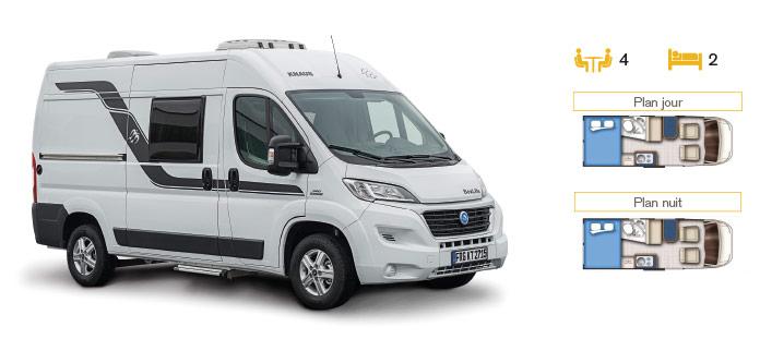 MotorHome Rent Fourgon Premium 2018 FG