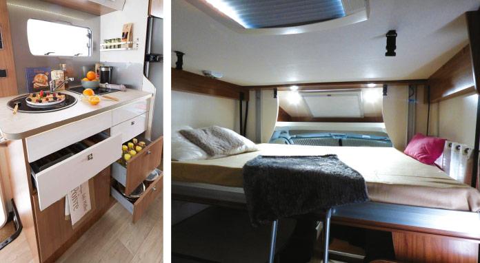 MotorHome Rent Intérieur Camping-car Profile Premium 6 2018 PPL