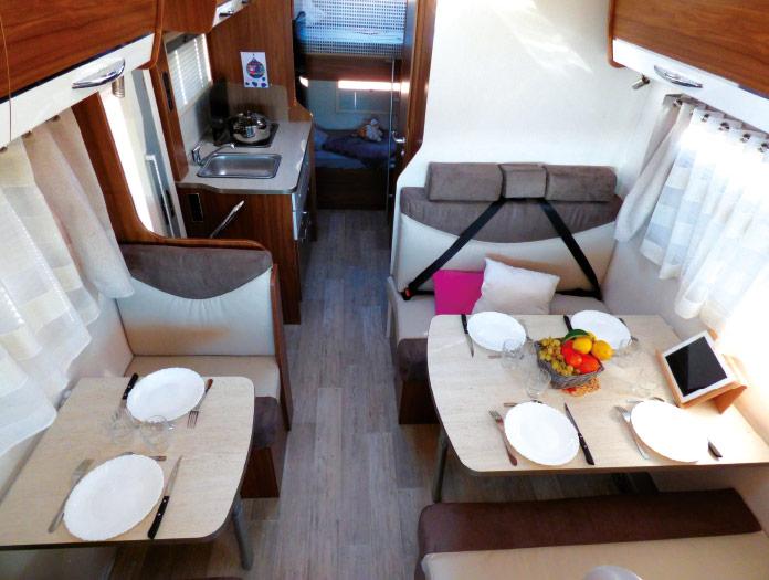 MotorHome Rent Salon Camping-car Capucine Premium 2018 CN